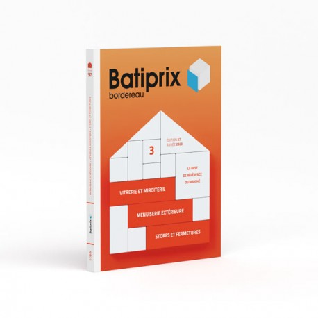 Batiprix Bordereau - Volume 3 - Édition 2020