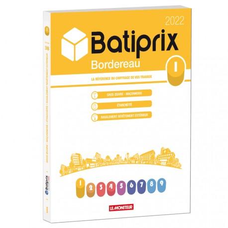 Batiprix Bordereau 2022 - Volume  1